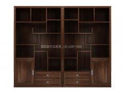 新中式书架R-1839