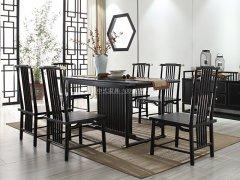 新中式餐桌椅RJ-BL-1870
