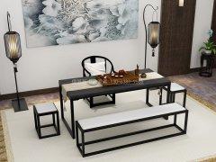 新中式茶室家具RJ-BL-1874