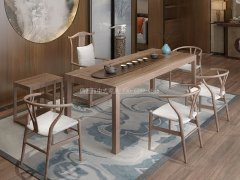 新中式茶室家具RJ-BL-1875