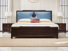 新中式卧室家具组合R-1957
