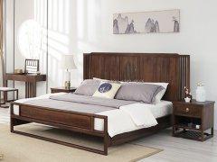 新中式卧室家具组合R-1968