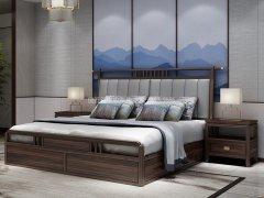 新中式卧室家具组合R-1972