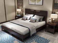 新中式卧室家具组合R-1973