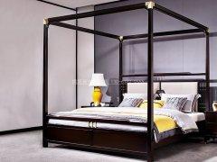 新中式卧室家具组合R-1975