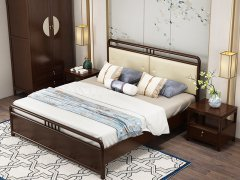 新中式卧室家具组合R-1954