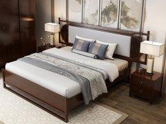 新中式卧室家具组合R-1984