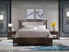 新中式卧室家具组合R-1985