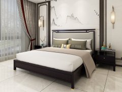 新中式卧室家具组合R-1987