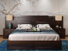 新中式卧室家具组合R-1990