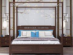 新中式卧室家具组合R-1991