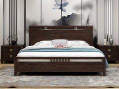 新中式卧室家具组合R-1996