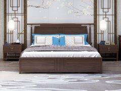 新中式卧室家具组合R-1995