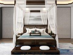 新中式卧室家具组合R-1998