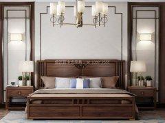 新中式卧室家具组合R-1999