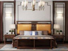 新中式卧室家具组合R-2000