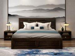 新中式卧室家具组合R-2002