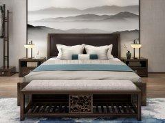 新中式卧室家具组合R-2003