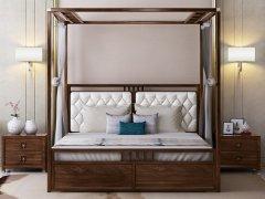 新中式卧室家具组合R-2004