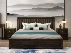 新中式卧室家具组合R-2006
