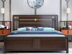 新中式卧室家具组合R-2009