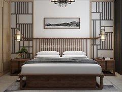 新中式卧室家具组合R-2013