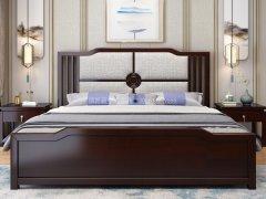 新中式卧室家具组合R-2019
