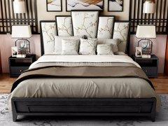 新中式卧室家具组合R-2020