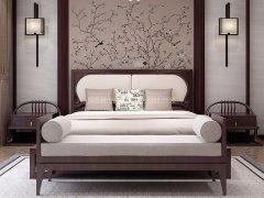 新中式卧室家具组合R-2021