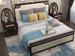 新中式卧室家具组合R-2022