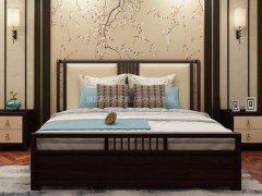 新中式卧室家具组合R-2023