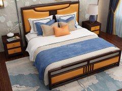 新中式卧室家具组合R-2024