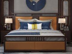 新中式卧室家具组合R-2026