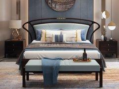 新中式卧室家具组合R-2029