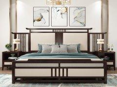新中式卧室家具组合R-2032