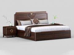 新中式卧室家具组合R-2035