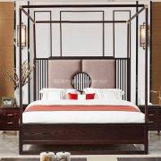 新中式卧室家具组合R-2036