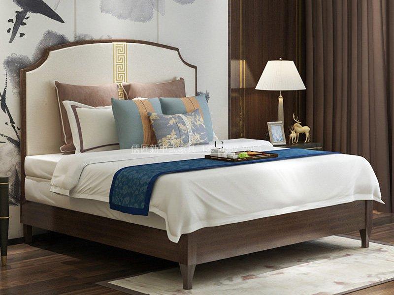 新中式卧室家具组合