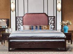 新中式卧室家具组合R-2042
