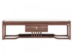 新中式床尾凳R-2046
