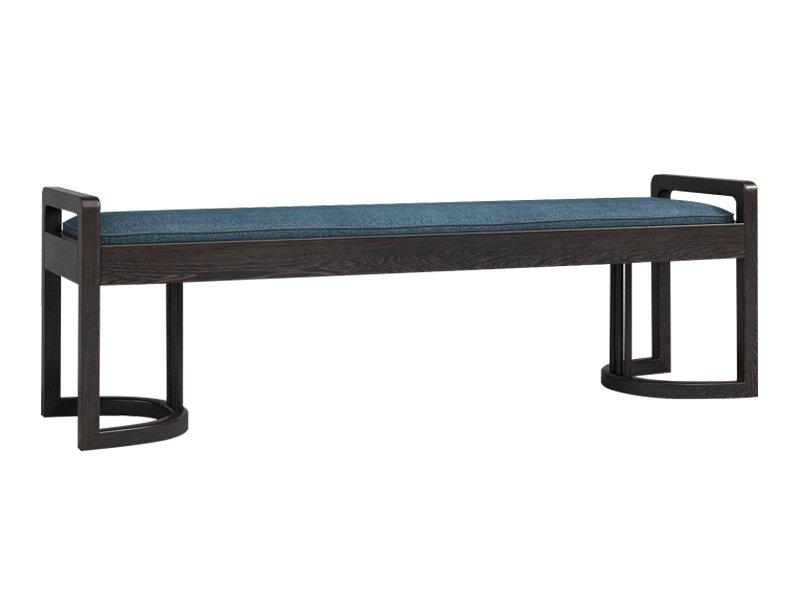新中式床尾凳