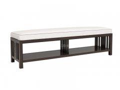 新中式床尾凳R-2053