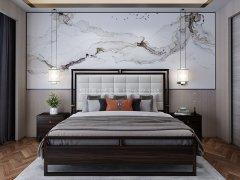新中式卧室家具组合R-2059