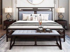 新中式卧室家具组合R-2061