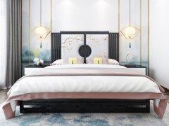 新中式卧室家具组合R-2063