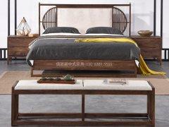 新中式卧室家具组合R-2067