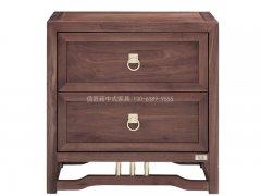 新中式床头柜R-2075