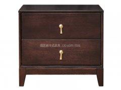 新中式床头柜R-2077