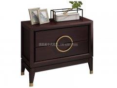 新中式床头柜R-2085