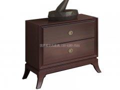 新中式床头柜R-2086
